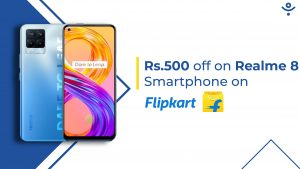 Realme 8 Gets Flat INR 500 Discount on Flipkart