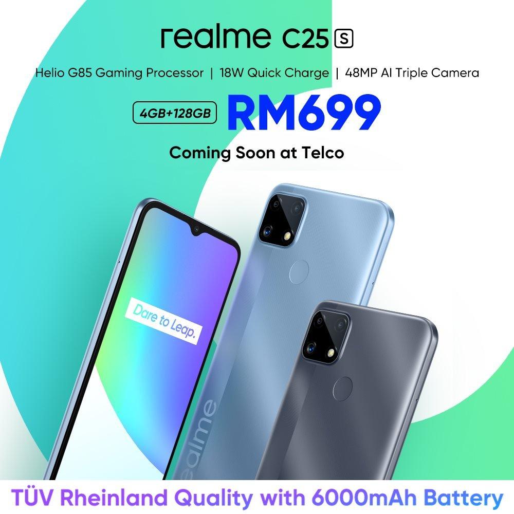 Realme C25s Pricing