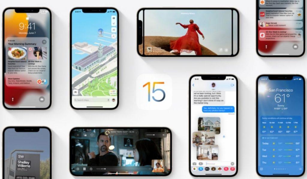 Apple iOS 15 Updates