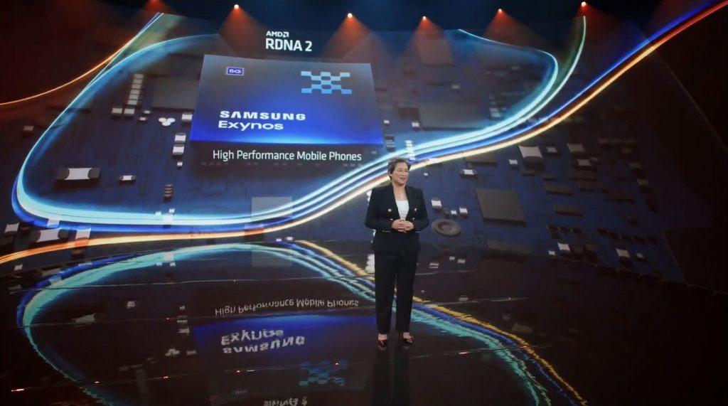Computex 2021 AMD Radeon Graphics coming to Samsung Flagship Exynos SoC