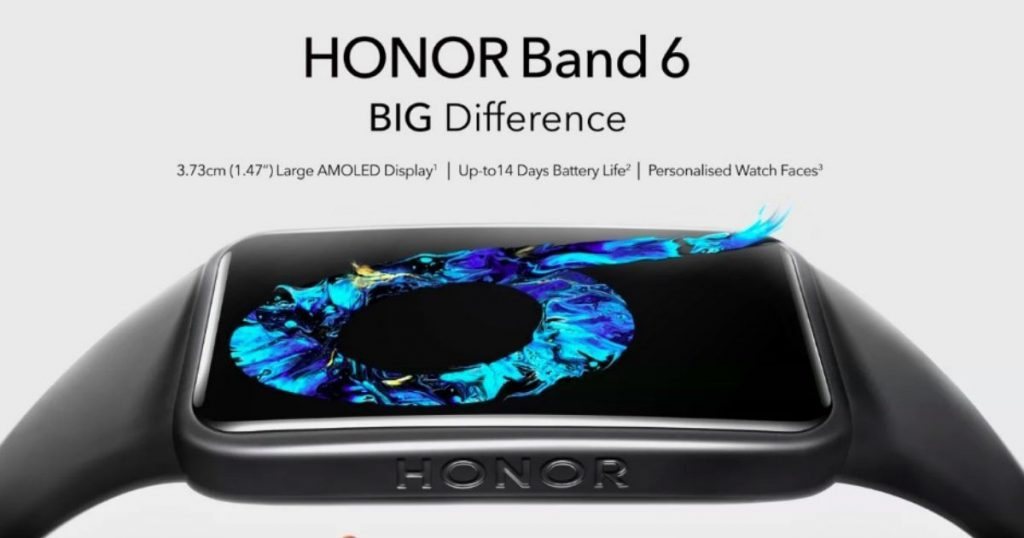Honor Band 6 to Launch in India Soon
