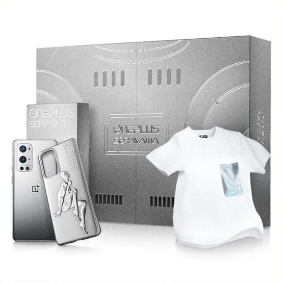 OnePlus 9 Pro Flash Silver Limited Edition