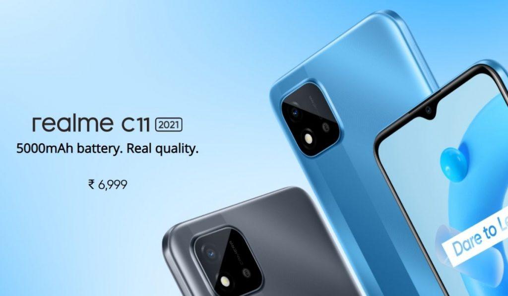 Realme C11 Price in India