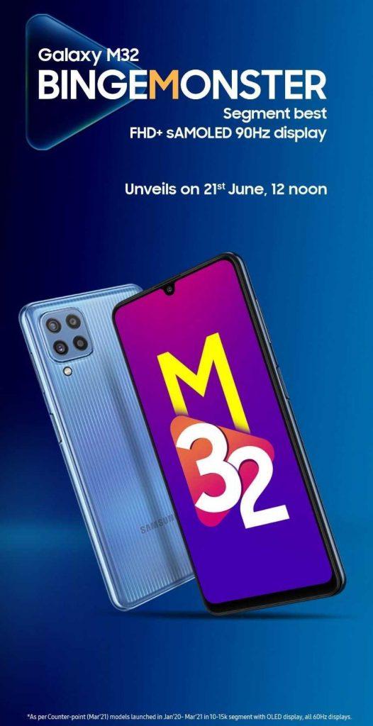 Samsung Galaxy M32 Launch Event