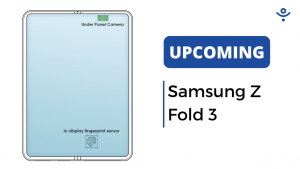 Samsung's First Foldable Under-Screen Camera Smartphone