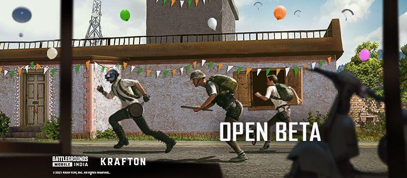 Battlegrounds Mobile India Open Beta